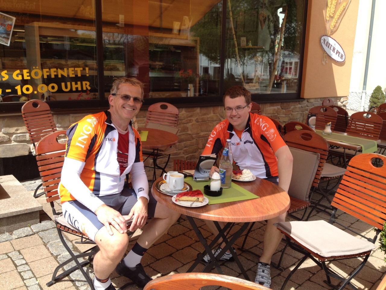 Rob en Eric in Wertach